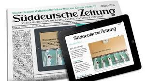 Картинки по запросу фото газета Sueddeutsche Zeitung
