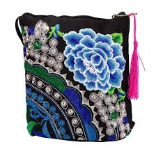 Fashion <b>Ethnic Style</b> Embroidery Purse Women Clutch Wristlet ...