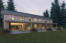 Awesome Modern Look Metal Farmhouse  HQ Plans  amp  Pictures    Metal    Just look how grand this house is