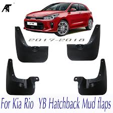 Car Mud Flaps <b>For Kia Rio 2017</b> 2018 YB Hatchback Mudflaps ...