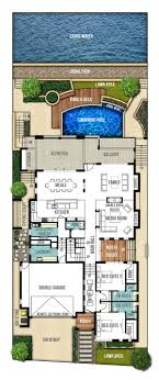 ideas about House Design Plans on Pinterest   U Shaped    Undercroft house designs by Boyd Design Perth  View  quot The Reef quot  floor plans  This three storey home has everything you could want  Check out the floor plans