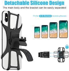 SYOSIN Universal Bike Phone Holder, 360° <b>Rotatable</b> Adjustable ...