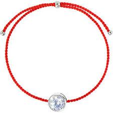 Wanna?Be! Красный браслет-нить Бриллиант - GLAMI.ru