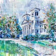 <b>Paintings</b> - Alma Mater <b>Collection</b> - Tamara <b>Brown Art</b>