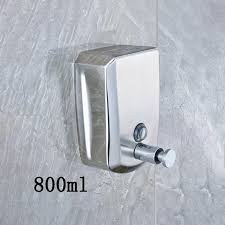 Solid Brass Bathroom Liquid Soap Dispenser 800ml <b>Wall Mounted</b> ...