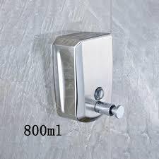 Solid Brass Bathroom Liquid Soap Dispenser 800ml <b>Wall Mounted</b> ...