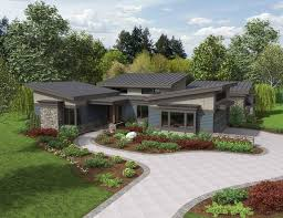 images about Houses on Pinterest   House plans  Floor Plans    U Shaped Courtyard House Plans   House Plan of the Week  The Caprica  Contemporary