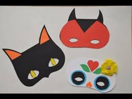 Halloween Crafts -- <b>Halloween Masks</b> for <b>Kids</b> - YouTube