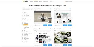 Free Templates Choose From 100s Of Examples Wixstores The Ecommerce Website Builder Review