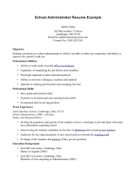 breakupus prepossessing school principal resume elementary school breakupus prepossessing school principal resume elementary school resume teacher cover glamorous school secretary resume secretary cover letter sample