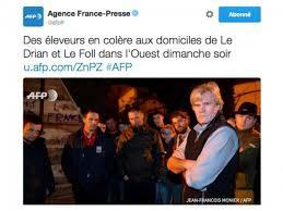 """Résultat de recherche d'images pour """"colere paysans contre Le Foll"""""""