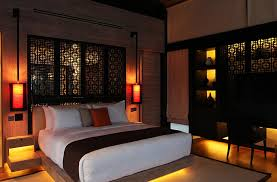 view in gallery sculptural lighting idea for the japanese bedroom asian inspired lighting