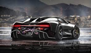 Of Bugattis Amazing Digital Rendering Of Bugatti Chiron Racecar Circulate Online