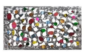 Metal <b>wall art abstract</b> circles   KunstLoft