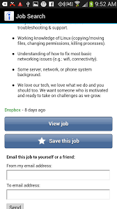 five android job search apps techrepublic acting on a job search is simple