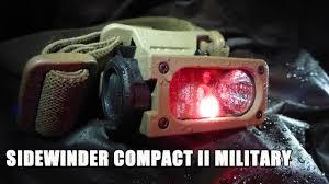 Военный тактический <b>фонарь</b> Sidewinder Compact II Military ...