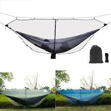 <b>Outdoor</b> Double Hammock Mosquito Insect Bed Net <b>Nylon Mesh</b> ...