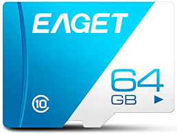 <b>EAGET T1 Memory Card</b>, Class 10 High Speed UHS-I Flash TF ...