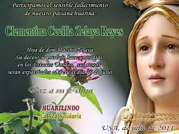 Clementina Cecilia Zelaya Reyes Q.E.P.D. - ClementinaCeciliaZelayaReyesQ.E.P.D