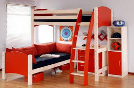 bunkbed with loveseat and dresser cabinet also wall rack for kids bedroom furniture set boys bedroom furniture set