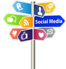 600 Social Media Network Sites on one page
