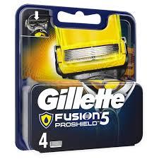 Интернет-магазин Сменные <b>кассеты Gillette Fusion</b> ProShield (<b>4</b> ...