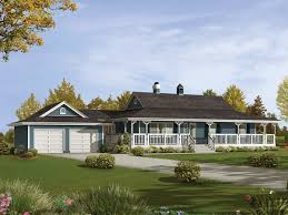 Caldean Country Ranch Home Plan D    House Plans and More