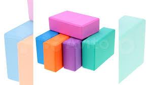 Кирпичик (опорный <b>Блок) для йоги</b> (разные цвета) купить в ...