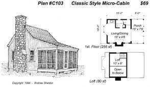 Tiny House On Wheels Plans Free Micro Cabin Plans  micro cottages    Tiny House On Wheels Plans Free Micro Cabin Plans