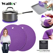 <b>2019 WALFOS</b> NonSlip Heat Resistant <b>Kitchen Cooking</b> Hot Pot ...