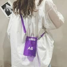 2019 Summer <b>New Fashion Creative</b> A6 Transparent Bags for ...