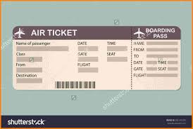 airline ticket template technician resume airline ticket template stock vector airline boarding pass ticket template detailed blank of airplane ticket vector illustration 292145120 jpg