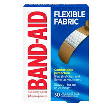 Band-Aid <b>Flexible</b> Fabric Brand <b>Adhesive Bandages</b> - 30ct : Target
