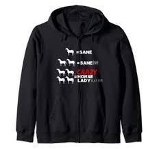 Crazy Horse Lady Zip Hoodie: Clothing - Amazon.com