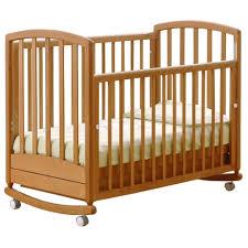 <b>Кроватка гандылян дашенька</b> к2001-02(12) (<b>качалка</b>), на полозьях