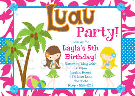 hawaiian birthday party invitations templates affordable hawaiian birthday party invitations templates affordable