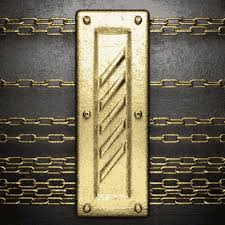<b>Metal frame</b> and iron chain <b>background</b> Free vector in Encapsulated ...