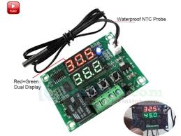 XH-W1219 Digital Thermostat <b>Module Temperature</b> Controller ...