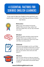 essential factors for serious english learners british english what you really need to improve your english