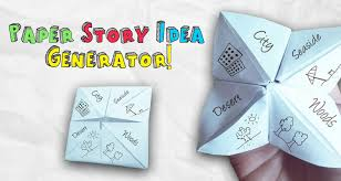 make your own paper story idea generator imagine forest paper story idea generator for kids imagine forest