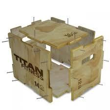 "3-in-<b>1</b> Wooden Plyometric Box - 12"" 14"" <b>16</b>""   <b>Diy</b> gym equipment ..."