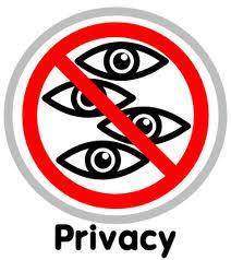 Afbeeldingsresultaat voor privacy