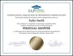 Become a Personal Shopper
