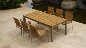 modern dining table teak classics: image of outdoor teak furniture dining