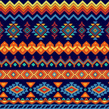 Free Vector | Abstract shapes pattern in <b>ethnic style</b>