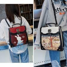 Beibaobao Fashion Womens Backpacks Luxury Pu Leather Girls ...