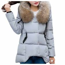 Striped <b>Winter Plush Coat Women</b> Autumn Thick Plus Size Fluffy ...