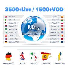 X96 <b>IPTV Spain Box Android</b> 7.1 4K HD WiFi IPTV Smart Media ...
