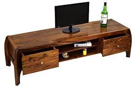 Daintree TimberTaste Bow <b>Solid Wood TV</b> Entertainment Unit ...