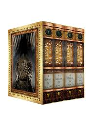 the george r r martin song of ice and fire hardcover box set the george r r martin song of ice and fire hardcover box set featuring a game of thrones a clash of kings a storm of swords and a feast for crows